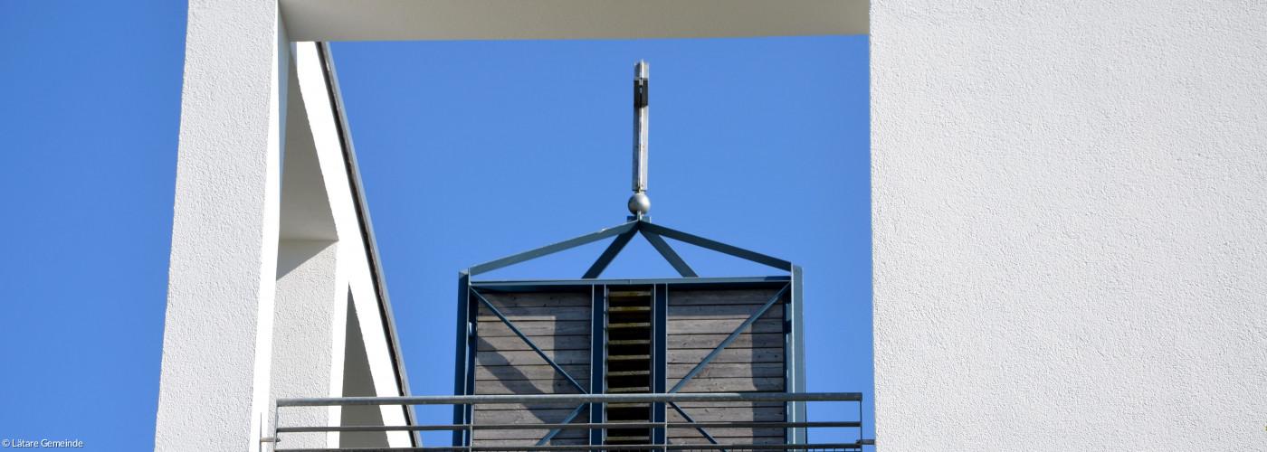 Blick auf Glockenturm