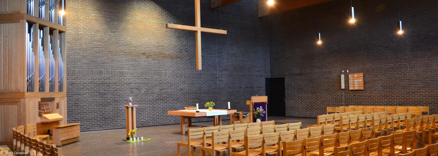 Blickrichtung auf den Altar